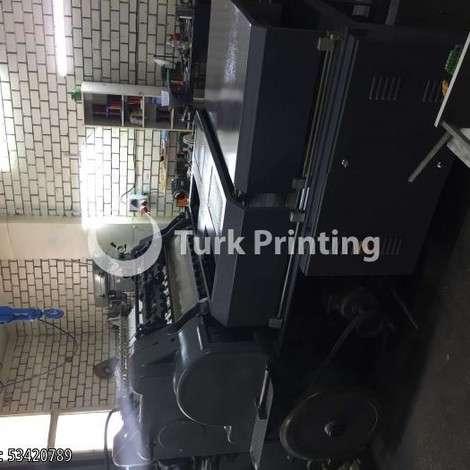Satılık ikinci el 2012 model Heidelberg 56*77 kazanlı yaldız 20000 EUR EXW (Ex-Works) TürkPrinting'de! Varak Yaldız Baskı Makinaları kategorisinde.