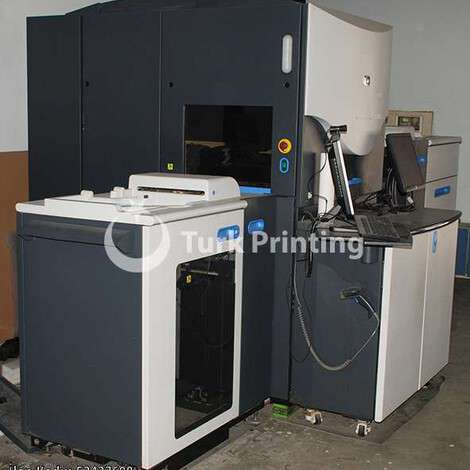 Used HP INDIGO 3550 year of 2010 for sale, price 255000 TL, at TurkPrinting in Digital Offset Machines