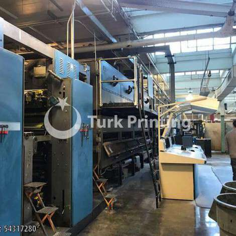 Used Harris M1000A (8) UNIT (2) WEB PRESS year of 2000 for sale, price ask the owner, at TurkPrinting in Heatset Web Offset Printing Machines