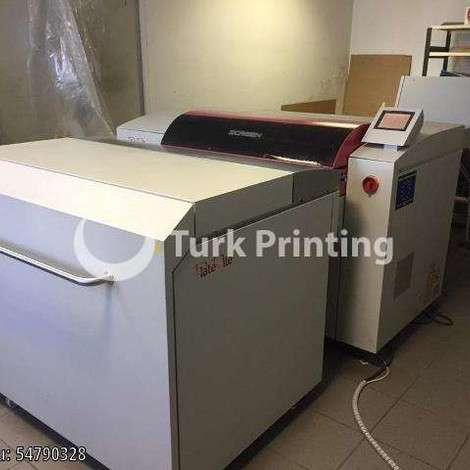 Used Screen PT-R 4100 CtP Machine, Year 04/2003 year of 2004 for sale, price ask the owner, at TurkPrinting in CTP Systems