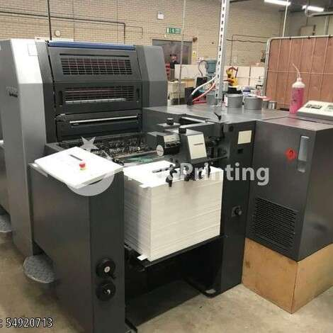 Used Heidelberg SM52-2 Offset Printing Press year of 2002 for sale, price ask the owner, at TurkPrinting in Used Offset Printing Machines