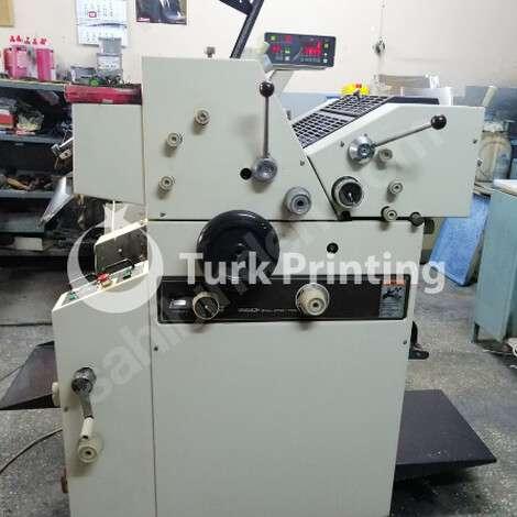 Used Ryobi 985CF (3202) (2 Color Continuous Printing Machine) + SERMAR Threshing Machine year of 1993 for sale, price 6000 EUR, at TurkPrinting in Continuous Form Printing Machines