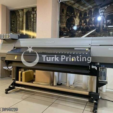 Used Ricoh Pro L4160 Digital Printing Machine year of 2019 for sale, price 110000 TL, at TurkPrinting in Large Format Digital Printers and Cutters (Plotter)