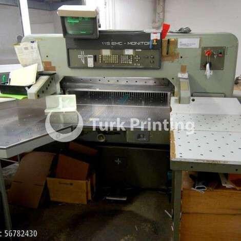 Satılık ikinci el 1991 model Polar 115 EMC-MON Kağıt Kesici fiyat sorunuz TürkPrinting'de! Bıçaklar - Giyotin kategorisinde.