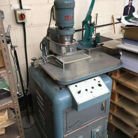 Used Other (Diğer) Soag T 4060 Automatic Heavy Duty year of 1988 for sale, price ask the owner, at TurkPrinting in Paper Drilling Machines