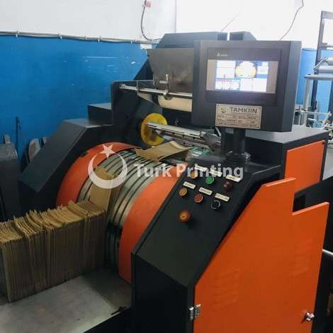 New Tamkiin PAPER FOOD BAG MACHINE WITH 3 COLORS FLEXO PRINTING year of 2019 for sale, price ask the owner, at TurkPrinting in Paper Bag Machines