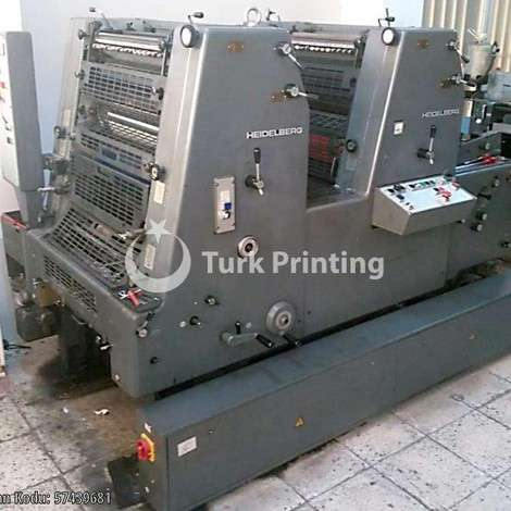 Used Heidelberg GTO ZP Printing Machine year of 1991 for sale, price 12500 EUR, at TurkPrinting in Used Offset Printing Machines