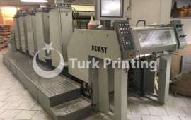 857 - five color 52x72cm offset printing machine