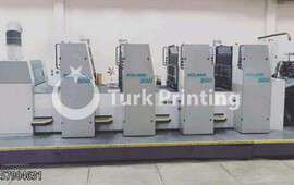 304 4 colors offset printing machine