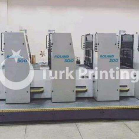 Used Man-Roland 304 4 colors offset printing machine year of 1997 for sale, price ask the owner, at TurkPrinting in Used Offset Printing Machines