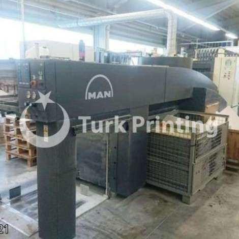 Used Man-Roland 505+LV Offset Printing Press - 2008 year of 2008 for sale, price ask the owner, at TurkPrinting in Used Offset Printing Machines