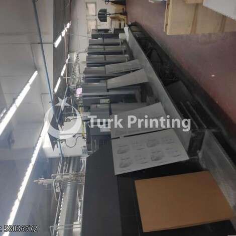 Used Heidelberg CX 102 5+L Offset Printing Press year of 2011 for sale, price ask the owner, at TurkPrinting in Used Offset Printing Machines