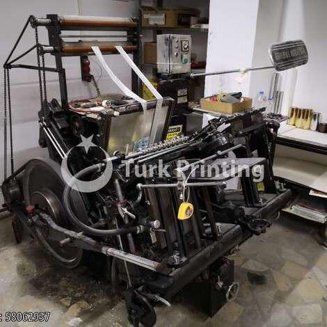 Satılık ikinci el 1980 model Heidelberg MAŞALI 2 NUMARA BÜYÜK VARAK TERTİBATLI 80000 TL TürkPrinting'de! Varak Yaldız Baskı Makinaları kategorisinde.