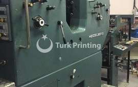 SORMZ 2 colour Offset Printing Press, 52x74 cm