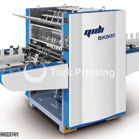 Satılık sıfır 2021 model Qidi BK-800 Yarı Otomatik Karton Laminasyon (Sıvama) Makinesi fiyat sorunuz TürkPrinting'de! Selefon - Sıvama - Kaplama kategorisinde.