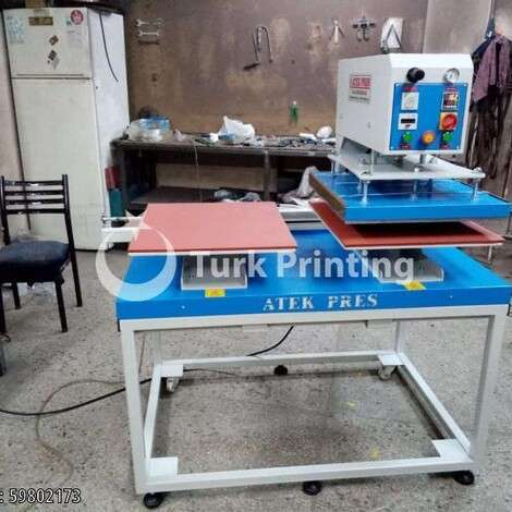 New Atek Pres Makina Transfer Printing Press year of 2019 for sale, price 7250 TL, at TurkPrinting in Fabric Printing Machine