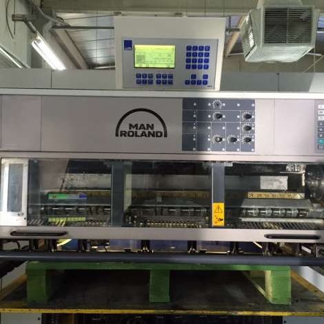Used ManRoland 706-L offset printing machine for sale. * FULL AUTO