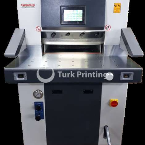 Used Tachoplus TC-520 HYDRAULIC PAPER CUTTER year of 2019 for sale, price 8250 USD FOB (Free On Board), at TurkPrinting in Paper Cutters - Guillotines