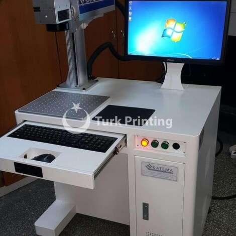 New Katema LASER MARKING MACHINE 20 WATT year of 2020 for sale, price 5500 USD EXW (Ex-Works), at TurkPrinting in Laser Cutter and Laser Engraving Machine