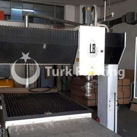 Used Coherent - Rofin Sinar 2000 and.LB CNC LASER (French, Balliu Company) year of 1998 for sale, price ask the owner, at TurkPrinting in CNC Router and CNC Cutting Machines