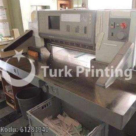 Satılık ikinci el 1999 model Polar 92E Matbaa Giyotini fiyat sorunuz TürkPrinting'de! Bıçaklar - Giyotin kategorisinde.