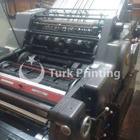 Used Heidelberg kors offset printing machine year of 1980 for sale, price ask the owner, at TurkPrinting in Used Offset Printing Machines
