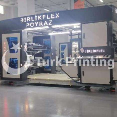 New Birlik Flex 4 Color 130Cm Sleeve System Flexo Printing Machine year of 2020 for sale, price ask the owner, at TurkPrinting in Flexo and Label Printing Machines