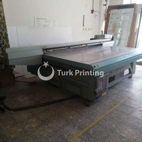 Used Fuji ACUITY ADVANCE HS 3545 UV PRINTING MACHINE year of 2012 for sale, price 82500 EUR, at TurkPrinting in Flatbed Printing Machines