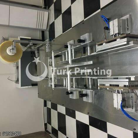 New Turbelioglu overwrapping machine year of 2021 for sale, price ask the owner, at TurkPrinting in Palletizers - Palletizing Robots