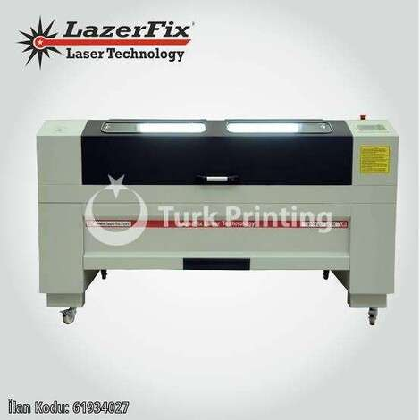 Used Lazerfix 100*160cm 150w laser cutting machine year of 2020 for sale, price 50000 TL, at TurkPrinting in Laser Cutter and Laser Engraving Machine