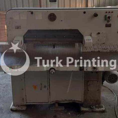 Used Kaym 72 CM GUILLOTINE WITH AIR TABLE year of 1984 for sale, price 25000 TL EXW (Ex-Works), at TurkPrinting in Paper Cutters - Guillotines