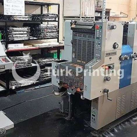 Used Ryobi 3304HA Four Color Offset Printing Press year of 2005 for sale, price ask the owner, at TurkPrinting in Used Offset Printing Machines