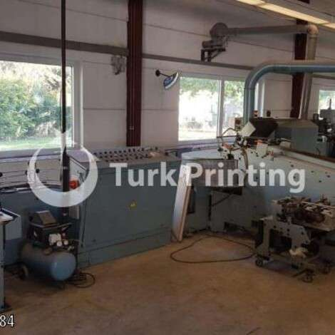 Used Wohlenberg Golf 12 Perfect Binder year of 1982 for sale, price ask the owner, at TurkPrinting in Perfect Binding Machines