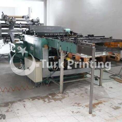 Used Hobema 101 Sheeter Machine year of 1968 for sale, price ask the owner, at TurkPrinting in Sheeter Machines