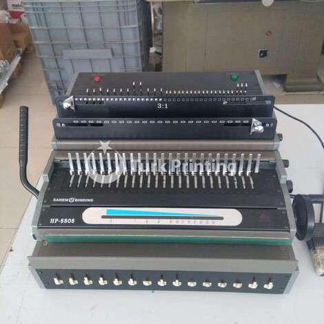 Satılık ikinci el 1988 model Other (Diğer) Elektrikli spiral fiyat sorunuz TürkPrinting'de! Kitapçık Yapma kategorisinde.