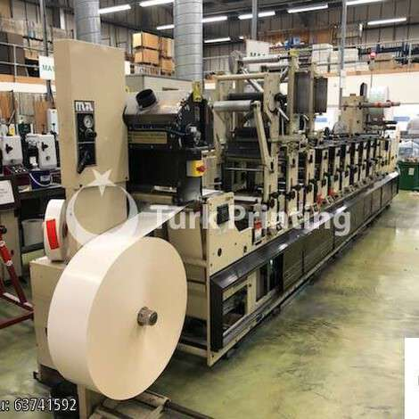 Used Mark Andy 2200 – 10 Colours year of 2000 for sale, price ask the owner, at TurkPrinting in Flexo and Label Printing Machines