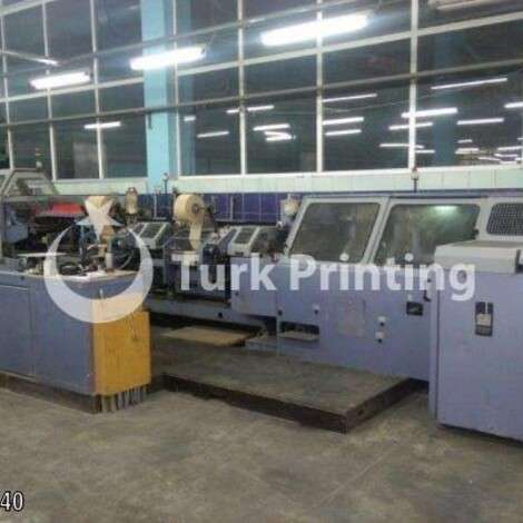 Used STAHL VBF BL 500 BOOK BINDING MACHINE year of 1996 for sale, price ask the owner, at TurkPrinting in Perfect Binding Machines
