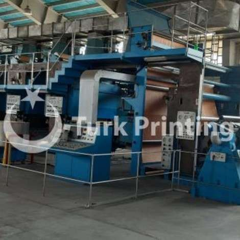 Used Cerutti 4 color 2 meter rotogravour printing width year of 1999 for sale, price ask the owner, at TurkPrinting in Rotogravure Printing Press Machines