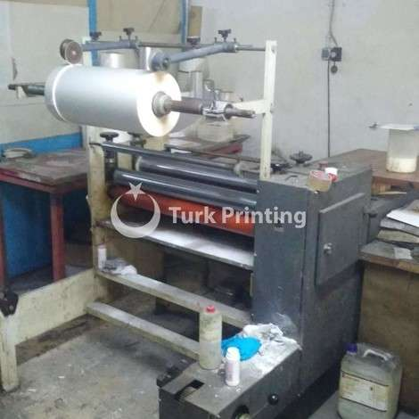 Used Somtas Manual Laminator - Clean and in working year of 2002 for sale, price 24.000 TL, at TurkPrinting in Laminating - Coating Machines