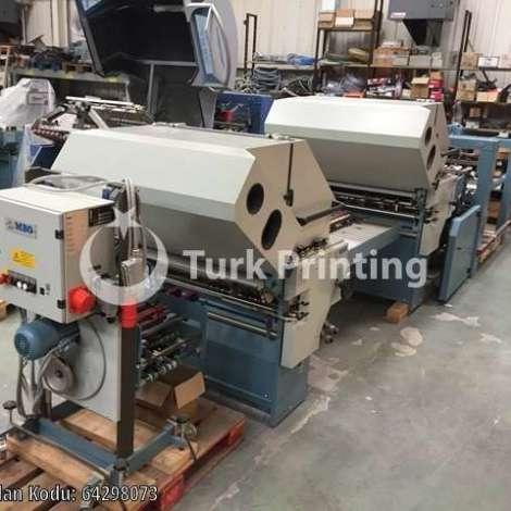 Satılık ikinci el 2002 model MBO T800/4/4X Katlama - Matbaa Makinesi fiyat sorunuz TürkPrinting'de! Katlama (Kırım) Makinaları kategorisinde.