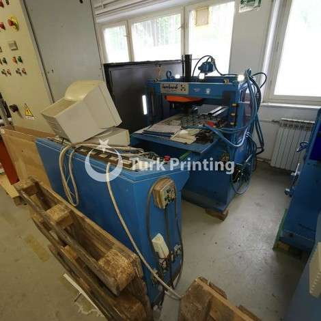 Used Lombardi MASTER 80 year of 1996 for sale, price 12600 EUR EXW (Ex-Works), at TurkPrinting in Die Cutters