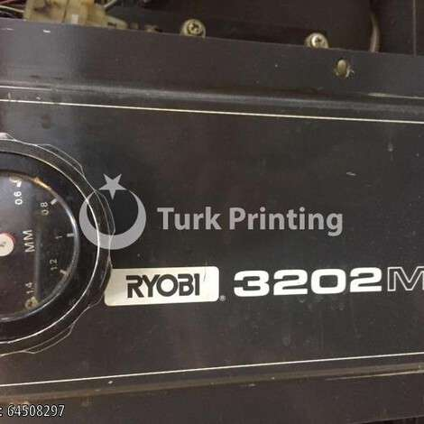 Used Ryobi 3202 mcs pf print year of 2001 for sale, price 4500 EUR, at TurkPrinting in Used Offset Printing Machines