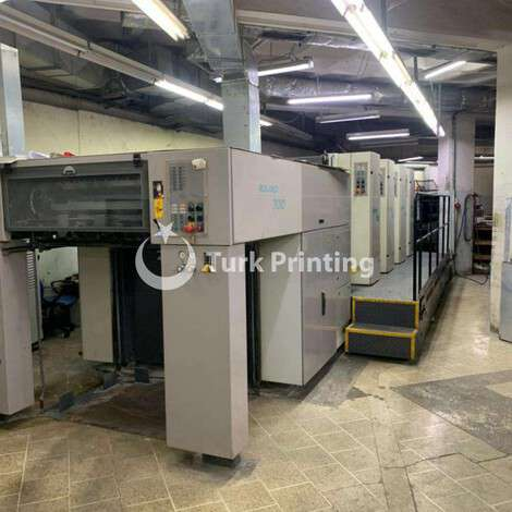 Used Man-Roland R 704 3BOffset Printing Machine year of 2000 for sale, price ask the owner, at TurkPrinting in Used Offset Printing Machines