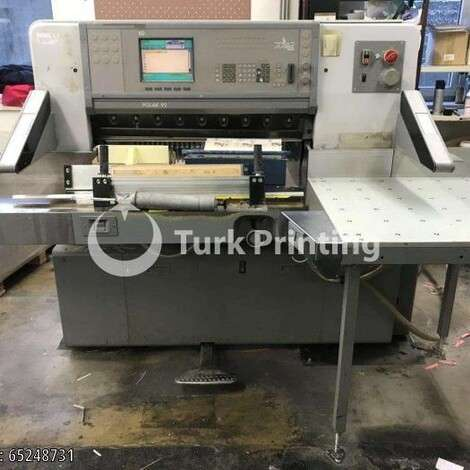 Used Polar 92 ED Guillotine year of 2000 for sale, price 14500 EUR FOB (Free On Board), at TurkPrinting in Paper Cutters - Guillotines