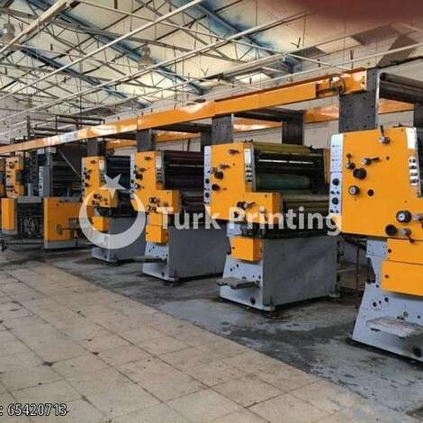 Used Solna RP 36 Web Offset year of 2009 for sale, price 55000 EUR, at TurkPrinting in Digital Offset Machines