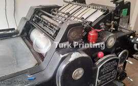 KOR Pompalı baskı Makinası 115 Arma