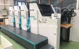 204 Offset Printing Machine