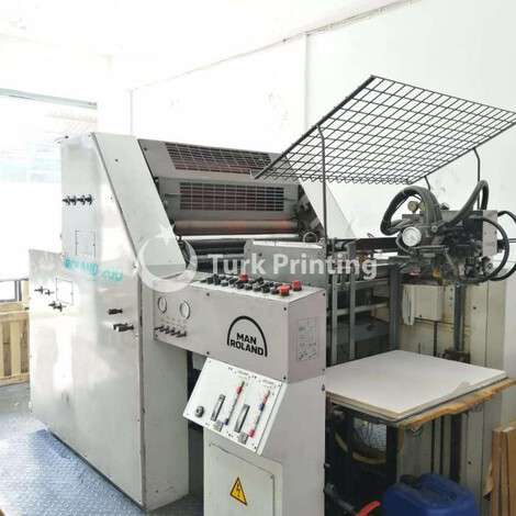 Used Man-Roland 202 Two Colors Offset Printing Press, VERY CLEAN year of 1996 for sale, price 109000 TL, at TurkPrinting in Used Offset Printing Machines