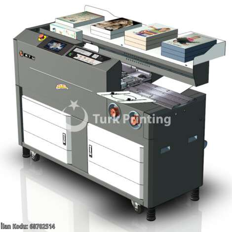 New Boway K7 MODEL PERFECT BINDING MACHINE year of 2020 for sale, price ask the owner, at TurkPrinting in Perfect Binding Machines