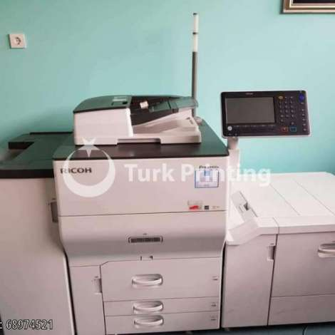 Used Ricoh Pro C5100S Digital Printing Machine year of 2017 for sale, price ask the owner, at TurkPrinting in Printer and Copier